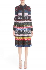 Mary Katrantzou  Cecile  Pleated Knit Dress at Nordstrom