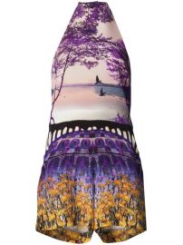Mary Katrantzou Garden Print Romper - at Farfetch