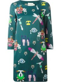 Mary Katrantzou and39symbolsand39 Shift Dress - Boutique Mantovani at Farfetch