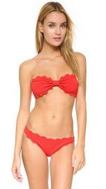 Marysia Swim Antibes Scallop Bikini Top at Shopbop