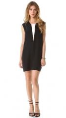 Mason by Michelle Mason Contrast Shift Dress at Shopbop