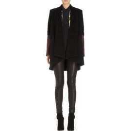 Mason by Michelle Mason Leather Cuff Jacket at Barneys