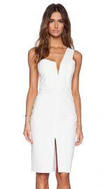 Mason by Michelle Mason One Shoulder Dress in Ivory  REVOLVE at Revolve