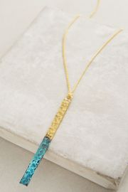 Matchstick Pendant Necklace at Anthropologie