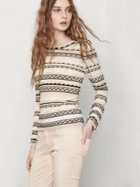 Mauritani sweater at Maje