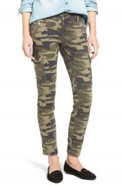 Mavi Jeans Juliette Camo Print Military Cargo Pants at Nordstrom