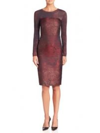 Max Mara - Varna Jacquard Dress at Saks Off 5th