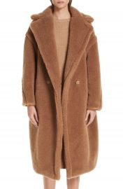Max Mara Teddy Bear Icon Faux Fur Coat at Nordstrom