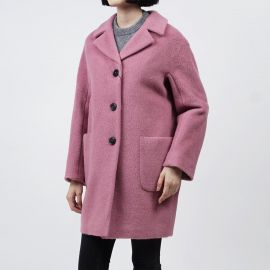 MaxMara Piombo Coat in Rose at Rakuten