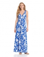 Maxi dress wit the same print at Amazon