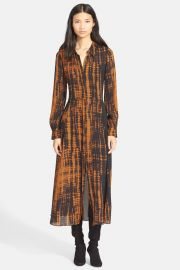 Maxwell Silk Print Dress at Nordstrom Rack