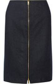 Mazy wool-blend pencil skirt at The Outnet