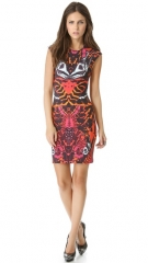 McQ - Alexander McQueen Interlock Cap Sleeve Dress at Shopbop