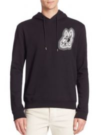 McQ Alexander McQueen - Clean Cotton Hoodie at Saks Fifth Avenue