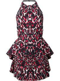 Mcq By Alexander Mcqueen Leopard Print Halter Neck Dress - Elite at Farfetch