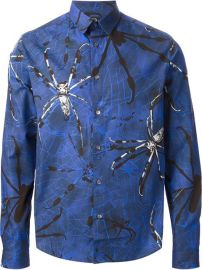 Mcq By Alexander Mcqueen Spider Print Shirt - at Farfetch