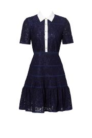 Meadow Lace Shirtdress by Draper James at Draper James