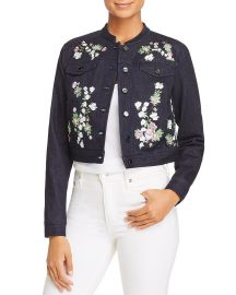 Meggy Embroidered Denim Jacket at Bloomingdales