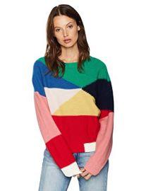 Megu Pullover Colorblock Sweater at Amazon