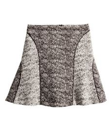 Melange Skirt at H&M