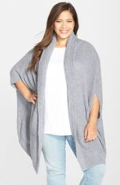 Melissa McCarthy Seven7 Chunky Texture Cardigan at Nordstrom