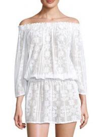Melissa Odabash - Olivia Off-The-Shoulder Blouson Dress at Saks Fifth Avenue