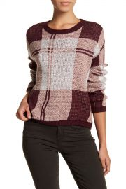 Melrose Market Shrunken Plaid Pullover at Nordstrom Rack