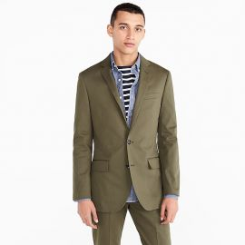 Men s Ludlow Suit Jacket In Italian Stretch Chino at J. Crew