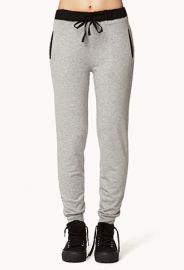 Menswear inspired sweatpants at Forever 21
