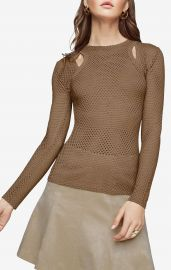 Mercy Cutout Mesh Top at Bcbg