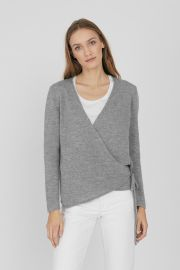 Merino Cashmere Wrap Cardigan by Cuyana at Cuyana
