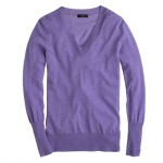 Merino vneck sweater at J. Crew
