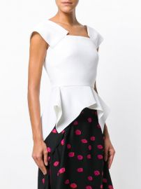 Merley Top by Roland Mouret at Farfetch