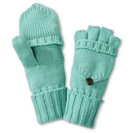 Merona Flip Top Gloves at Target