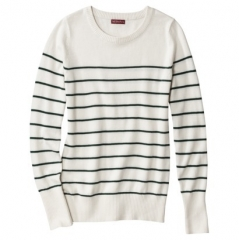 Merona striped sweater at Target