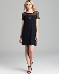 Mesh insert tshirt dress by Marc by Marc Jacobs at Bloomingdales