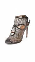 Mesh sandals by Aquazzura at Shopbop