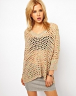Mesh sweater by Wwul at Asos