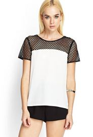 Mesh top at Forever 21