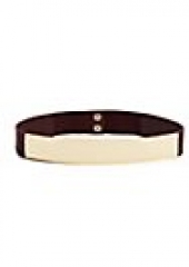 Metal Plate Belt at Guess