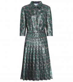 Metallic Dress by Prada at My Theresa