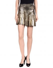 Metallic skirt by Ohne Tital at Yoox