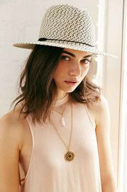 Mexicali Straw Panama Hat at Urban Outfitters