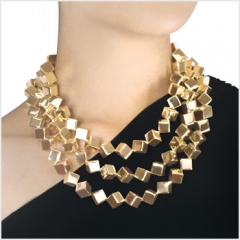 Mexican Geometry Necklace at Daniel Espinosa