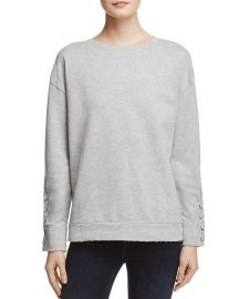 Miaya Lace-Up Sleeve Sweatshirt at Bloomingdales