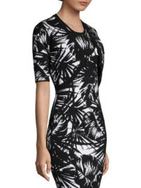 Michael Kors Collection Palm Leaf-Print Shrug at Saks Fifth Avenue