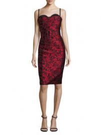 Michael Kors - Silk Bustier Sheath Dress at Saks Off 5th
