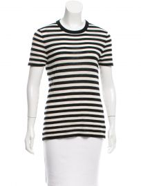 Michael Kors Cashmere Striped Sweater at The Real Real