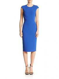 Michael Kors Collection - Contoured Cap-Sleeve Sheath at Saks Fifth Avenue