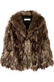 Michael Kors Collection - Faux fur cape at Net A Porter